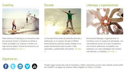 Optimización de Redes Sociales, Formación y Consultoría